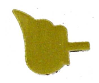 Engelflügel Messing 15mm