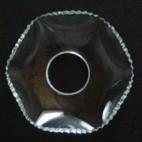 Lichtmanschetten Glas gezackter Rand LM369