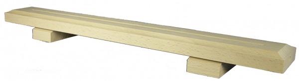 Schwibbogenleiste 76 cm lang, 4mm Nut