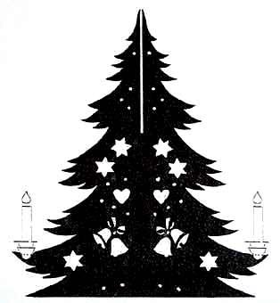 Vorlage Weihnachtsbaum