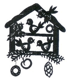 Laubsäge Vorlage Vogelhaus