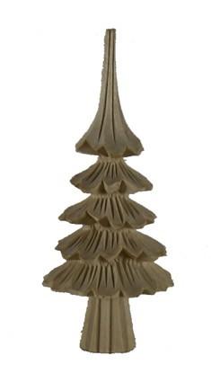 Baum geschnitzt mit Stamm 6cm