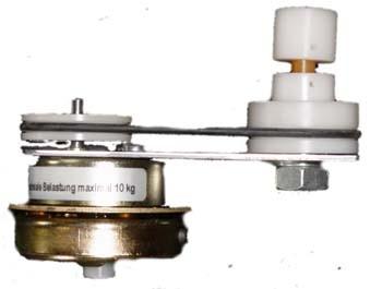 Pyramidenmotor Mörz 220V 3U/Min Belastung 10 Kg