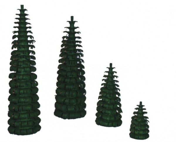 Ringelbaum grün H 80mm