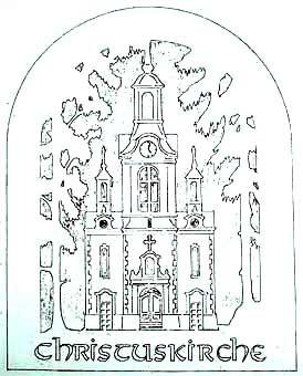 Vorlage Fensterbild Kirche Beierfeld