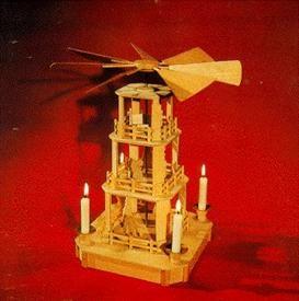 Laubsägevorlage Kastenpyramide