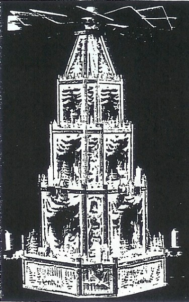 Laubsägevorlage Vogtlandpyramide