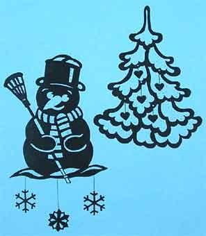 Vorlage Weihnachtsfensterbilder