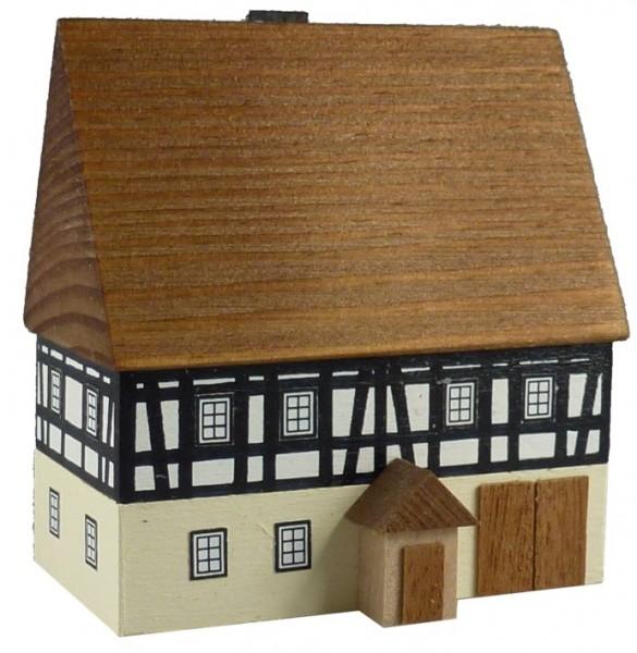 Lichthaus Bauernhaus zweistöckig mit Scheune klein