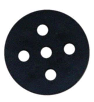 Riemenscheibe aus Plaste Ø 30mm mit 3mm Nut