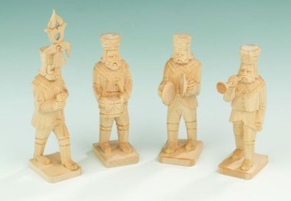 "Figuren-Set ""Bergmannskapelle"" 12cm"