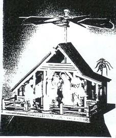 """Laubsägevorlage Krippenpyramide """""""