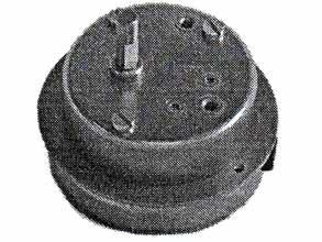 Pyramidenmotor Mörz 220V 3U/Min Belastung 3,0 Kg