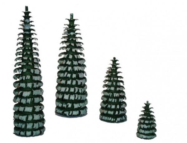 Ringelbaum grün/weiß H 50mm