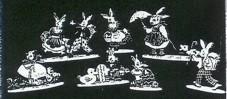 Vorlage Osterfiguren